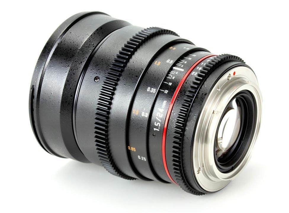 Samyang 24mm / t1.5 VDSLR Objektiv mit Mod 0.8 (Nikon F FX/DX) Foto Nr. 1