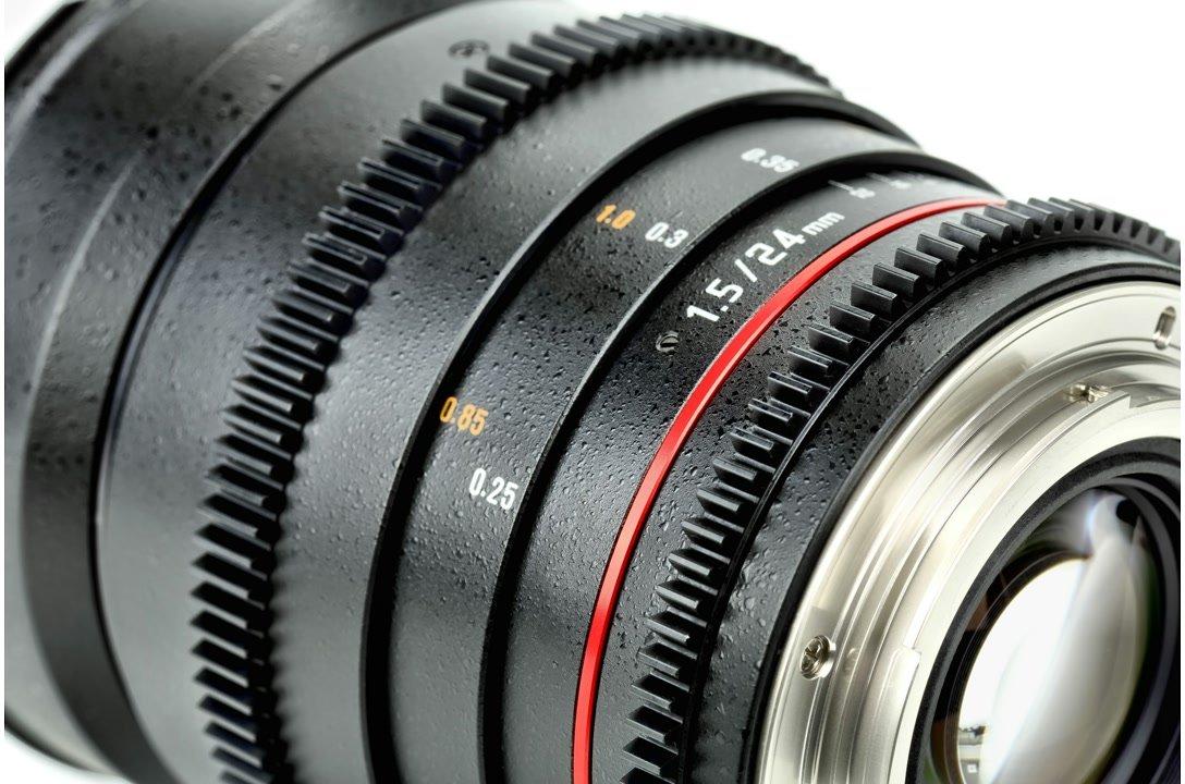 Samyang 24mm / t1.5 VDSLR Objektiv mit Mod 0.8 (Nikon F FX/DX) Foto Nr. 2