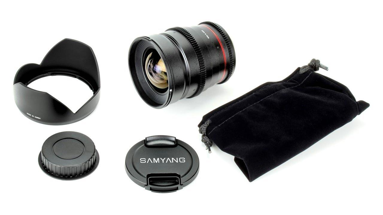 Samyang 24mm / t1.5 VDSLR Objektiv mit Mod 0.8 (Nikon F FX/DX) Foto Nr. 4