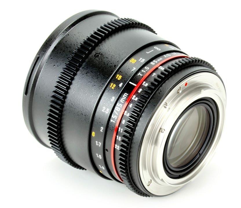 Samyang 85mm / t1.5 VDSLR Objektiv mit Mod 0.8 (Nikon F FX/DX) Foto Nr. 1