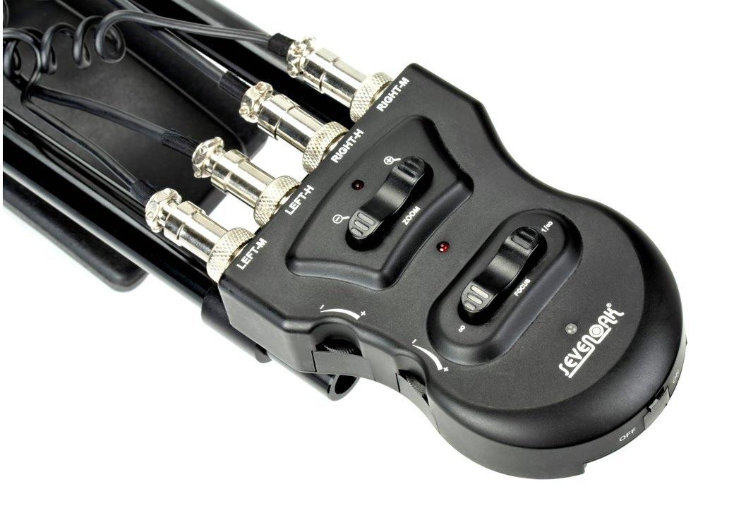 Steuerung der Motoren erfolgt über die Griffe oder über die Kontrollbox hinten.
