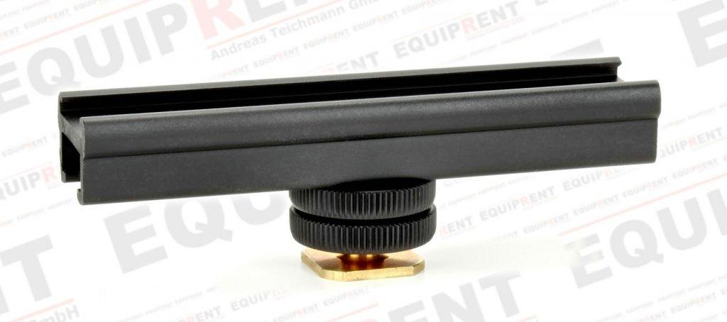 ROKO CSR-01 Cold Shoe Rail / variable Blitzschuhschiene für Zubehör.