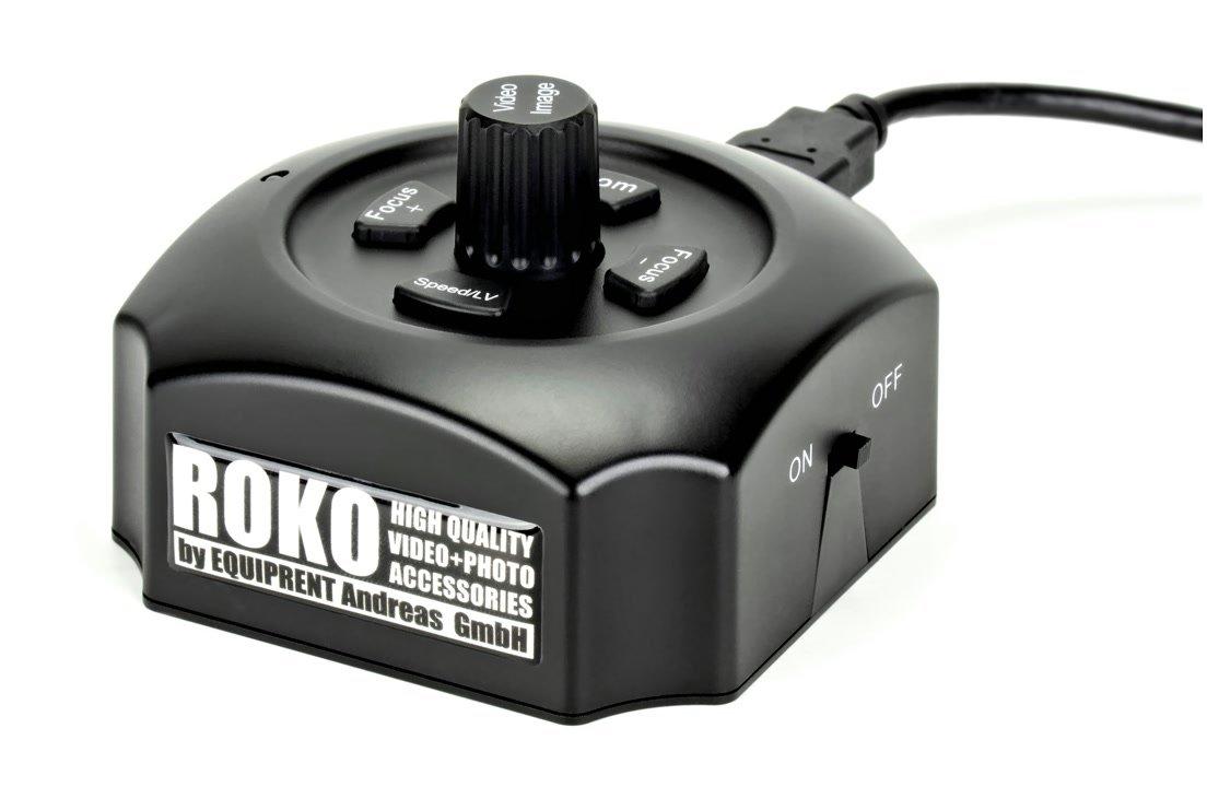 ROKO elektronischer USB Follow Focus für Canon DSLR mit AF.