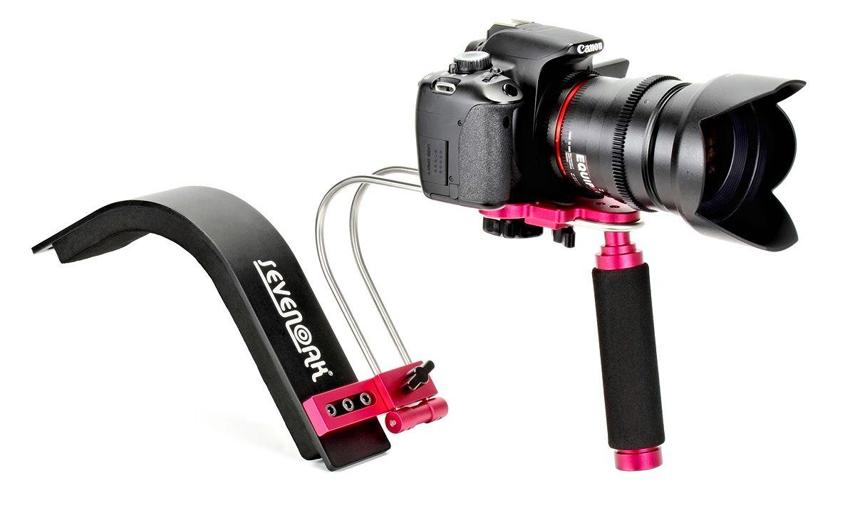 SevenOak SK-R01 ultra leichte Schulterstütze für DSLR und Camcorder.