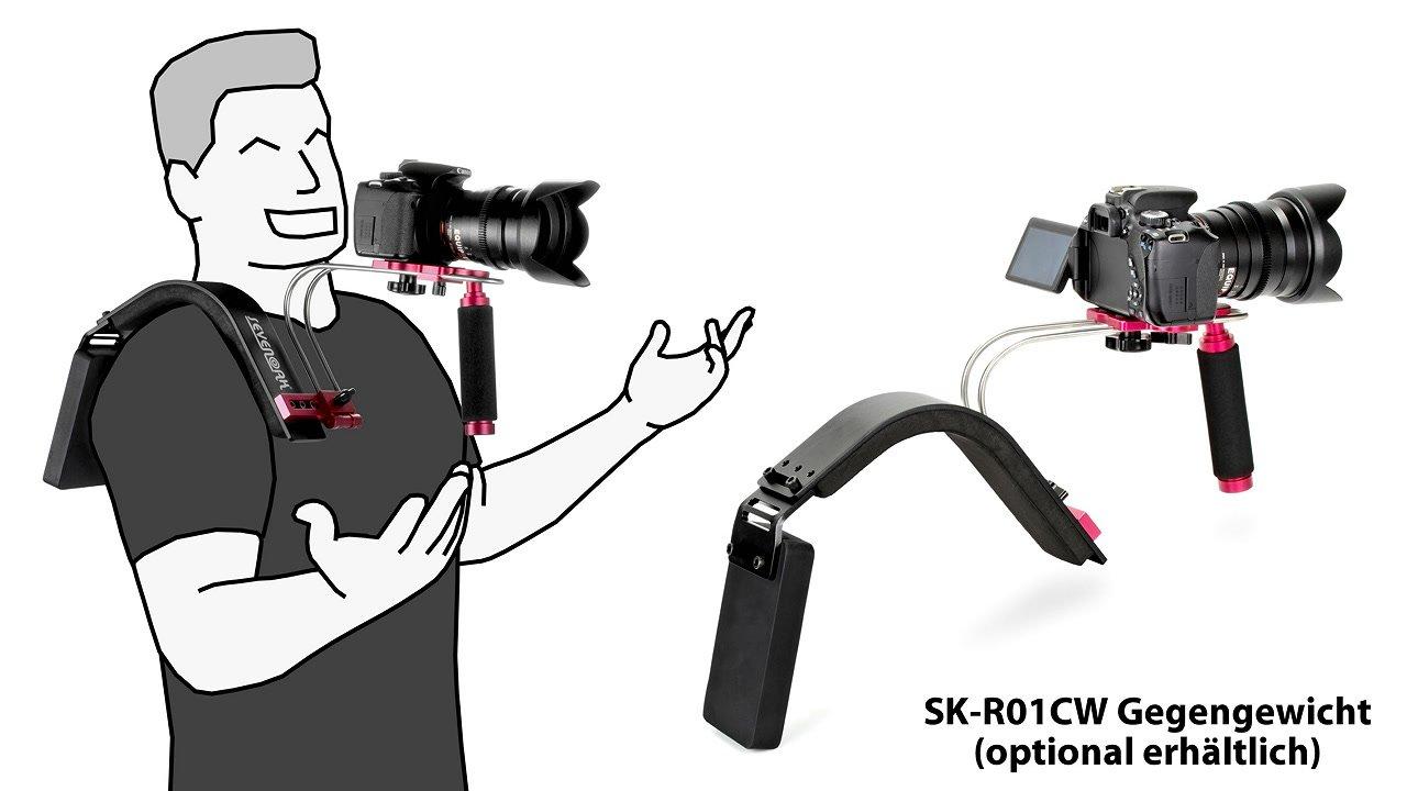SevenOak SK-R01 Schulterstütze mit Gegengewicht.