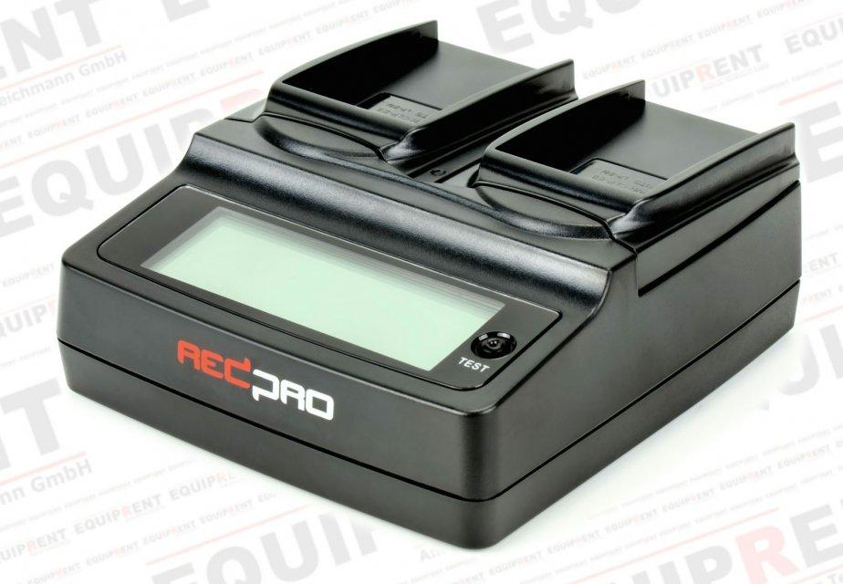 REDPRO RD-DC20E8 paralleles Ladegerät für zwei Canon LP-E8 Akkus.