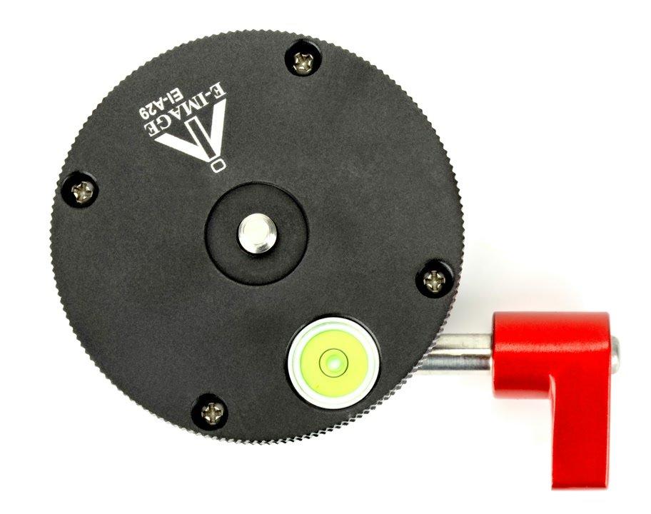 E-IMAGE Nivellieradapter von oben.