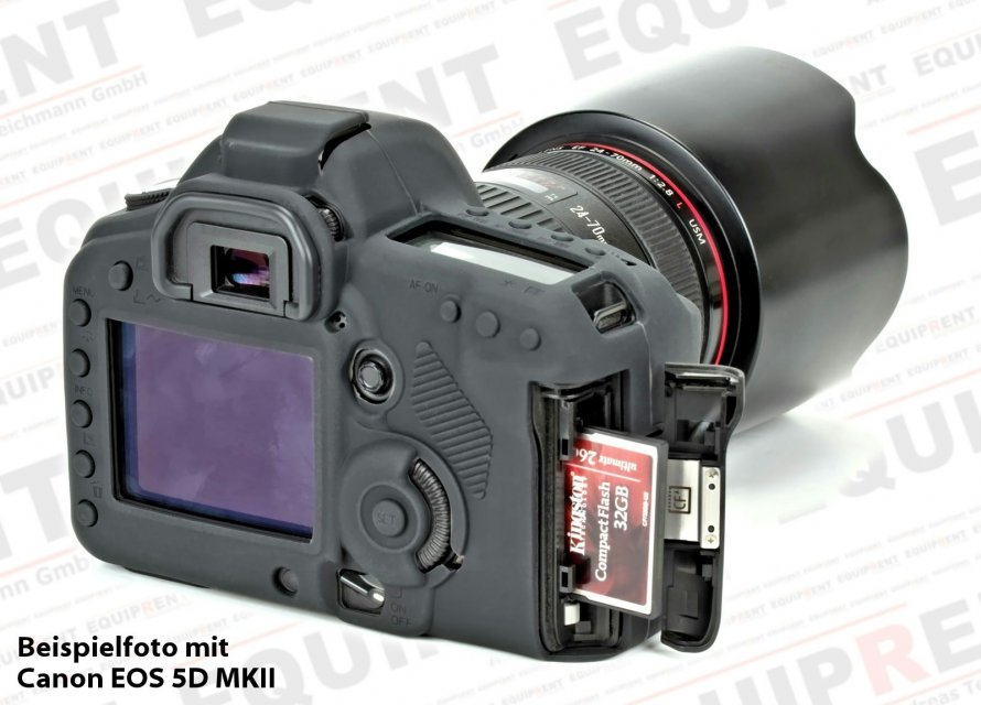 Walimex Pro easyCover Silikonschutzhülle für Canon EOS 5D Mark III Foto Nr. 3