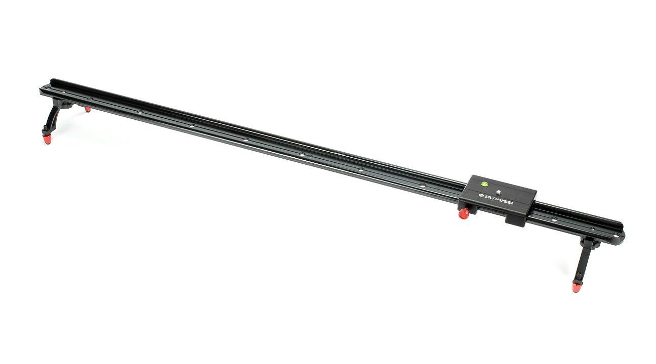 Der Slider hat einen 100cm lange Aluminiumschiene.