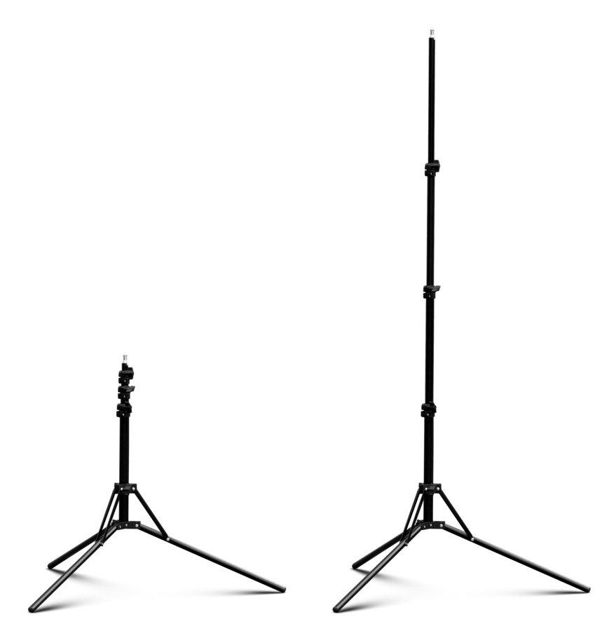 ROKO LS-170B 3-fach Lichtstativ 48-170cm (basic grade).