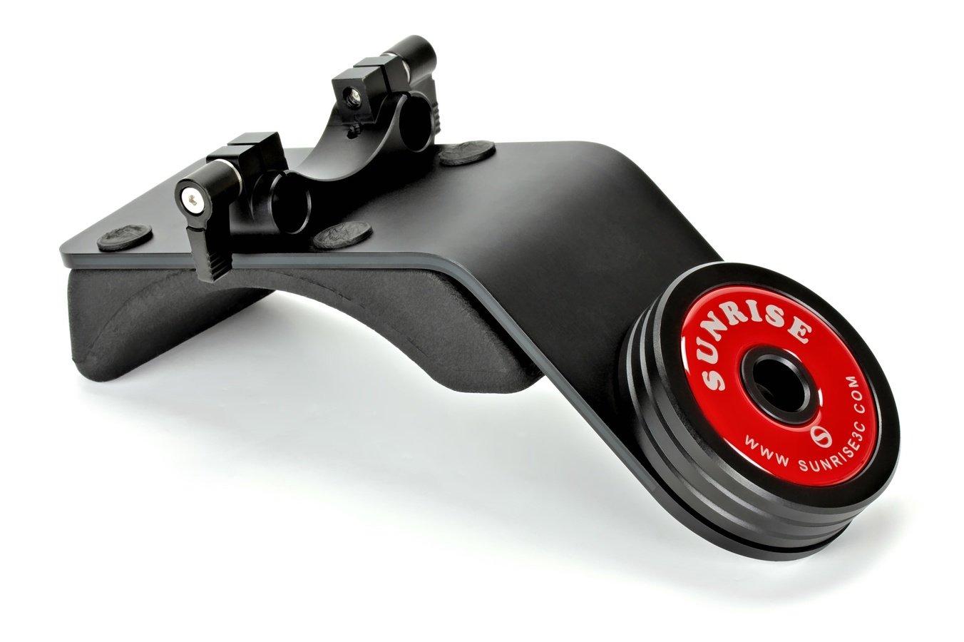 Sunrise DSM-802S Schulterpolster mit Gegengewicht für 15mm Rigs.