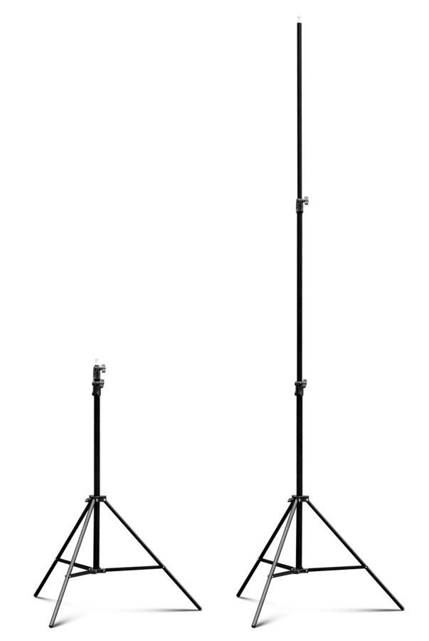 ROKO LS-240B 2-fach ausziehbares Lichtstativ Basic Grade (100-240cm).