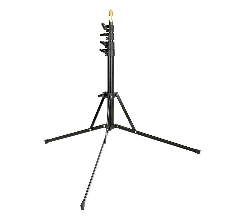 ROKO LS210 4-fach ausziehbares Lichtstativ (52 bis 210cm).