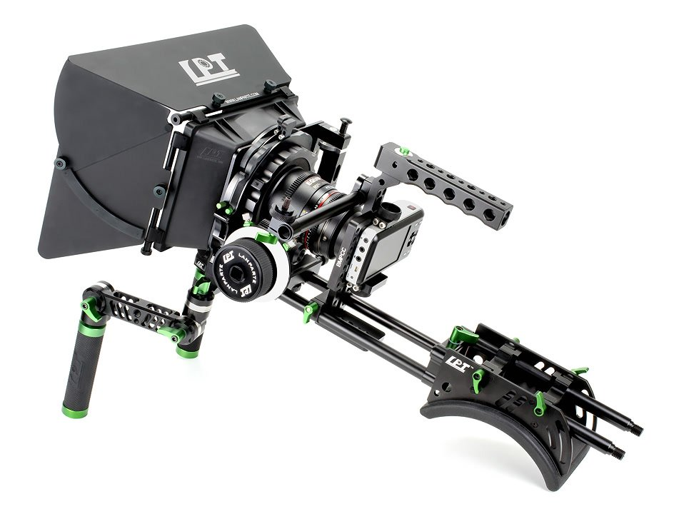 Lanparte BMPCC-01 Mighty Man Kit / prof. Rig für Pocket Cinema Camera.