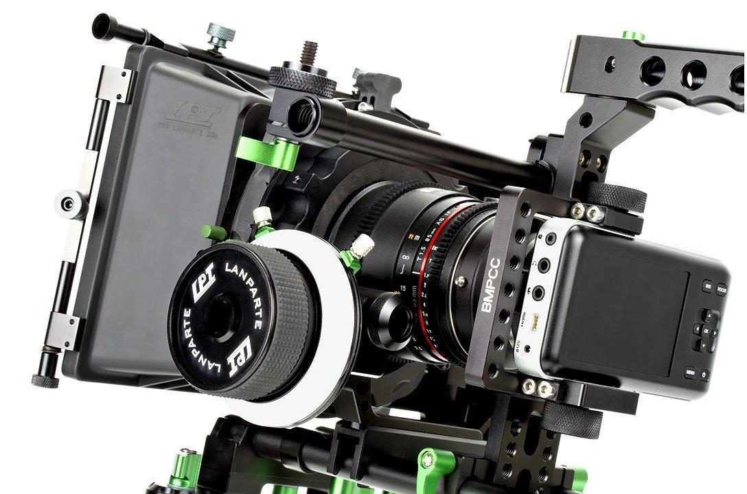 Lanparte BMPCC-01 Mighty Man Kit / prof. Rig für Pocket Cinema Camera Foto Nr. 4