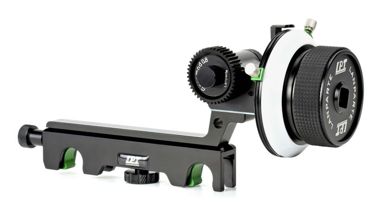 Lanparte FF-02-19 Follow Focus mit Hard Stops für 19mm Rods.