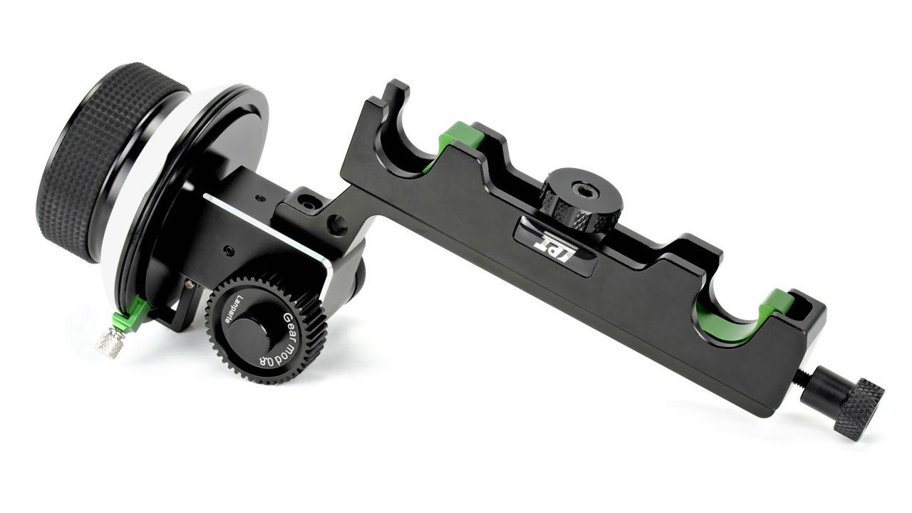 Lanparte Follow Focus für 19mm Rods liegend.