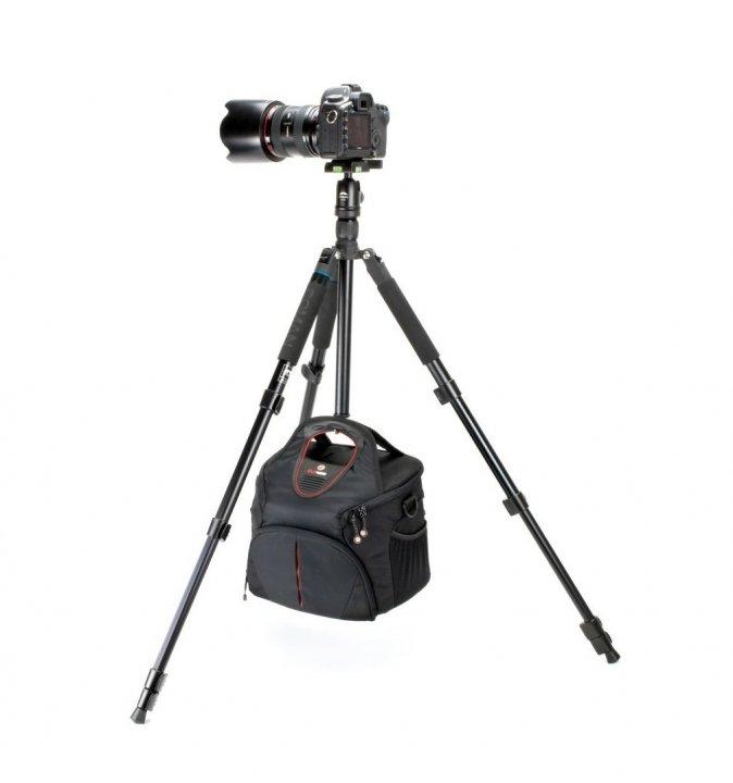 Coman Voyager TK-257 / CV-0 Fotostativ mit Monopodfunktion (22-160cm).
