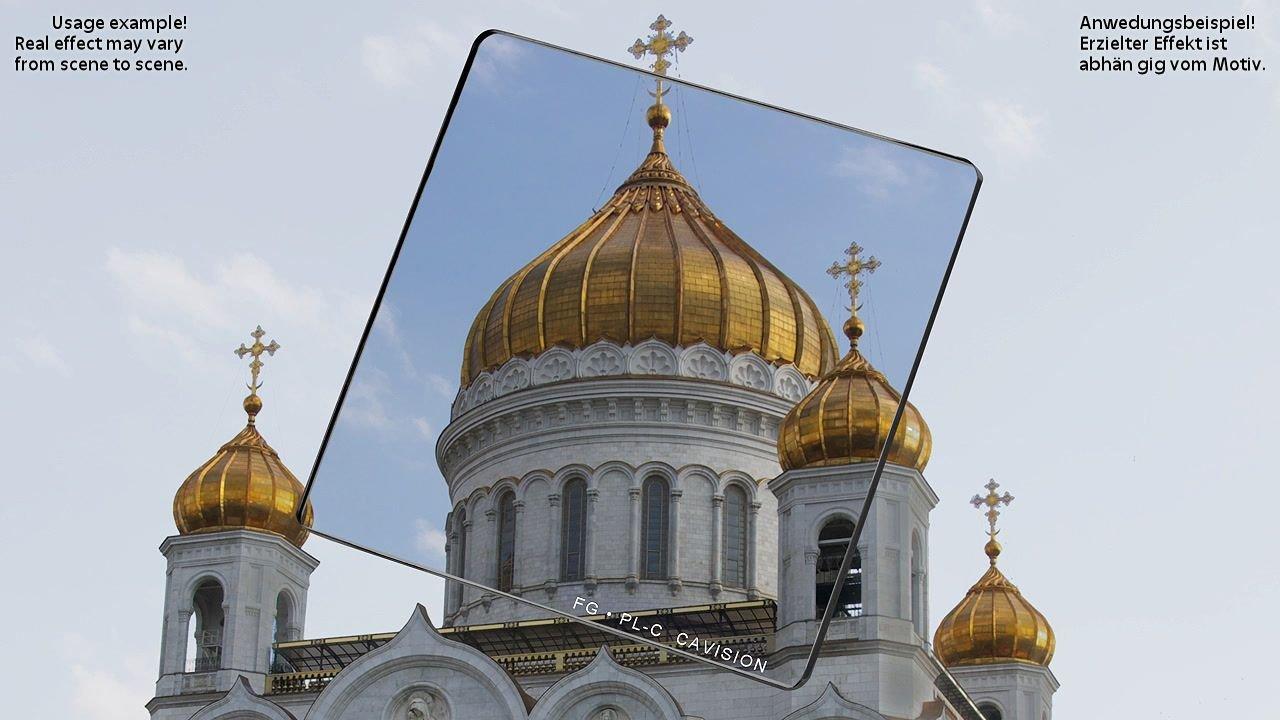 Anwendungsbeispiel Kirche mit Cavision 4x4 PLC Filter.