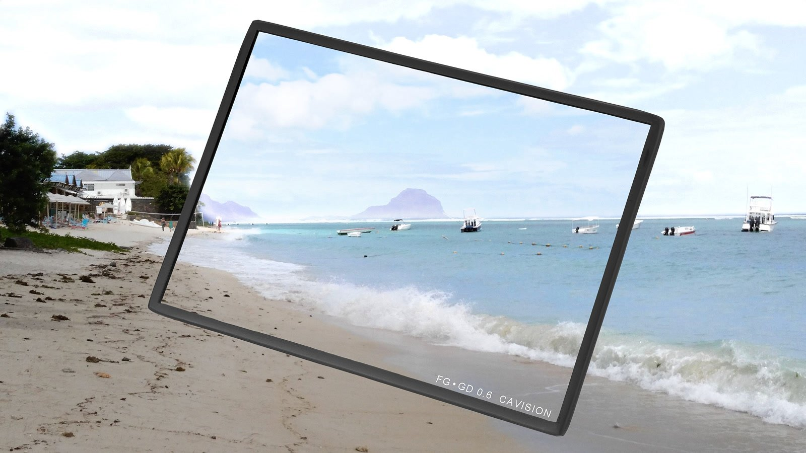 Cavision 4x5.65 Graduated ND / ND Verlauf Filter 0.6 (FTG4X565GD06) Foto Nr. 4