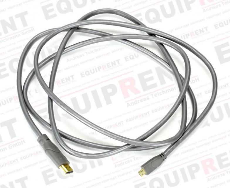 Lindy HDMI-Kabel Typ A/D (Micro HDMI) High-Speed / 200cm.