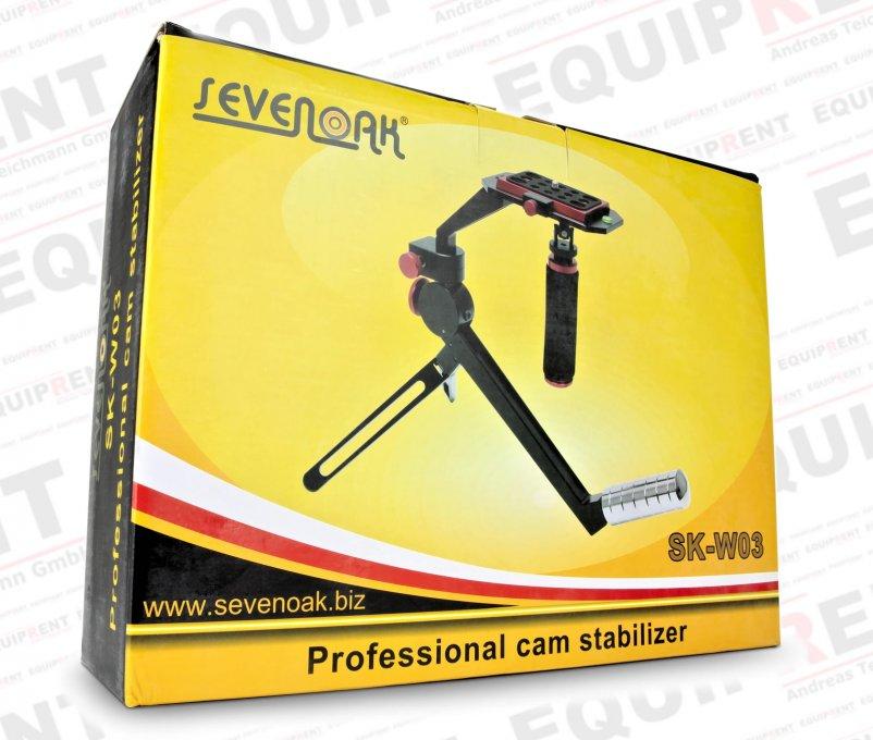 SevenOak SK-W03 kompakte Steadycam für DSLR von 0.5 bis 2.2kg Foto Nr. 14
