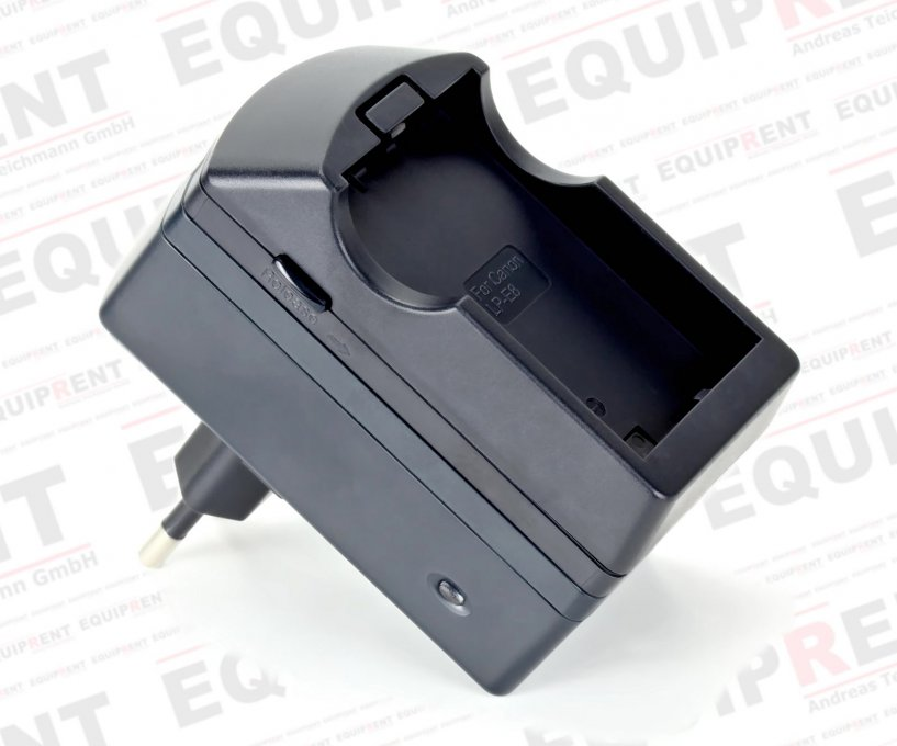 ROKO D1B-LPE8 kompaktes Ladegerät für Canon LP-E8 Akkus.