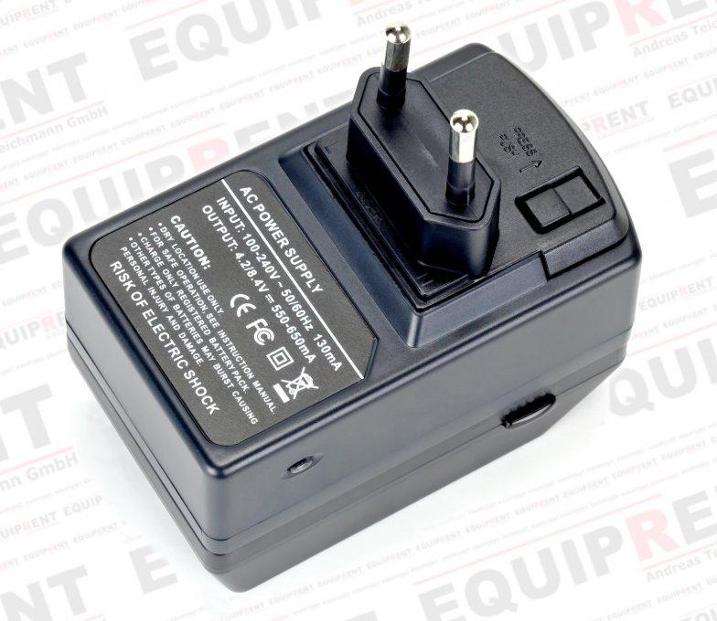 ROKO D1B-LPE8 kompaktes Ladegerät für Canon LP-E8 Akkus Foto Nr. 1