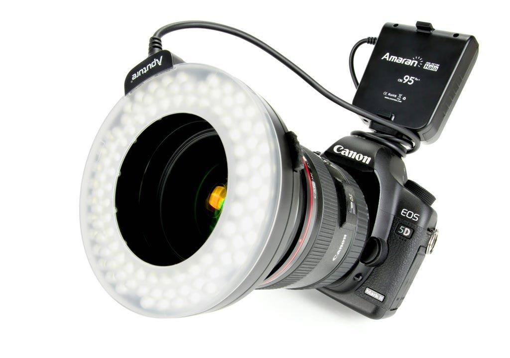 Aputure AHL-HC100 HALO High CRI LED Ringleuchte/Ringblitz (für Canon).