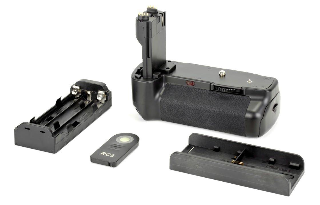 Lieferumfang Aputure Batteriegriff für Canon 5D Mark II.