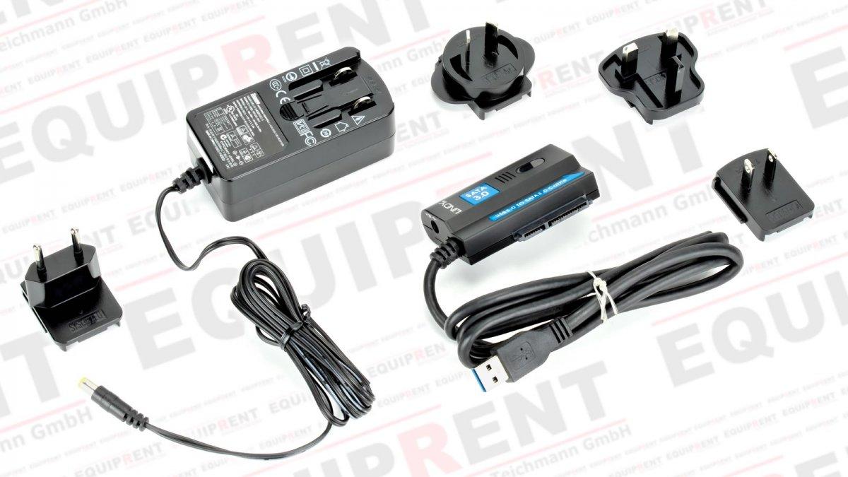 Lindy SATA III zu USB 3.0 Adapter / Reader (für HDD und SSD) Foto Nr. 2