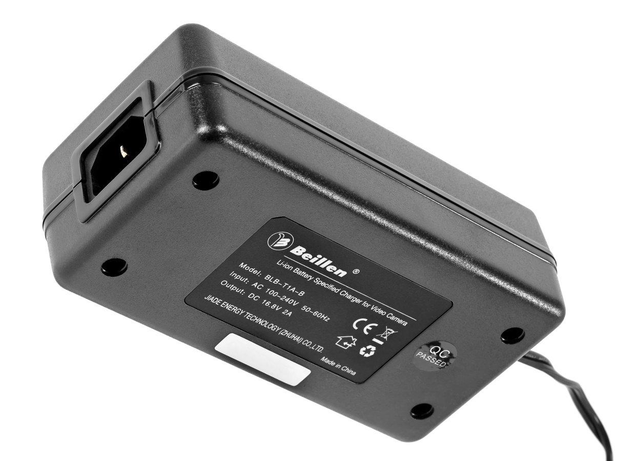 Unterseite Beillen BLB-T1A-B Ladegerät.