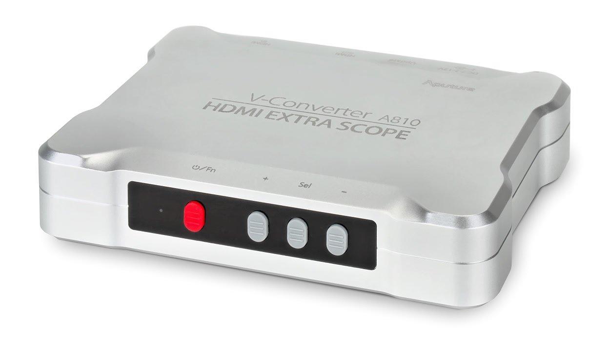 Aputure V-Converter A810 (Peaking/False Color mit jedem HDMI Monitor).