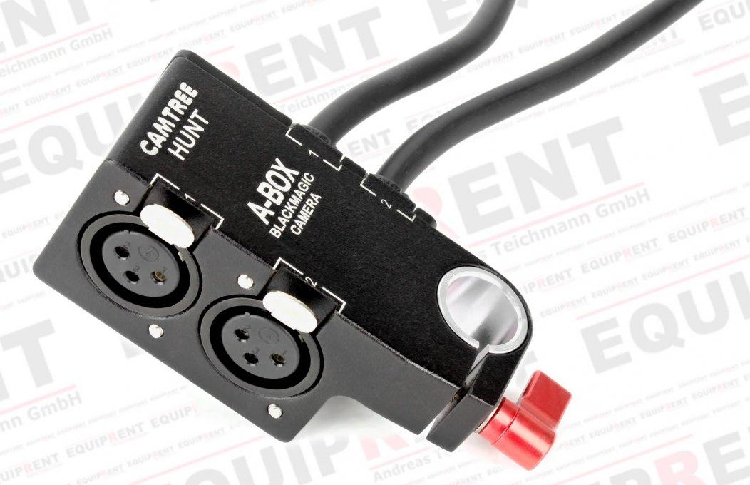 Camtree A-Box für BMCC (passiver XLR auf 6.3mm Klinke Audioadapter) Foto Nr. 1