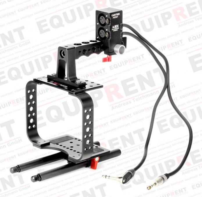 Camtree A-Box für BMCC (passiver XLR auf 6.3mm Klinke Audioadapter) Foto Nr. 3