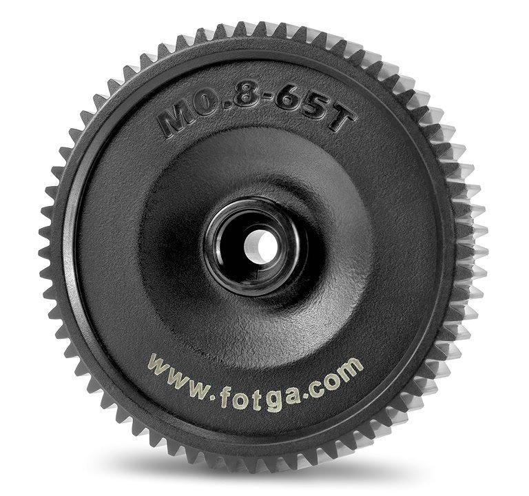 Fotga M0.8-65T 65mm Mod 0.8 Zahnrad für DP500 II Follow Focus.