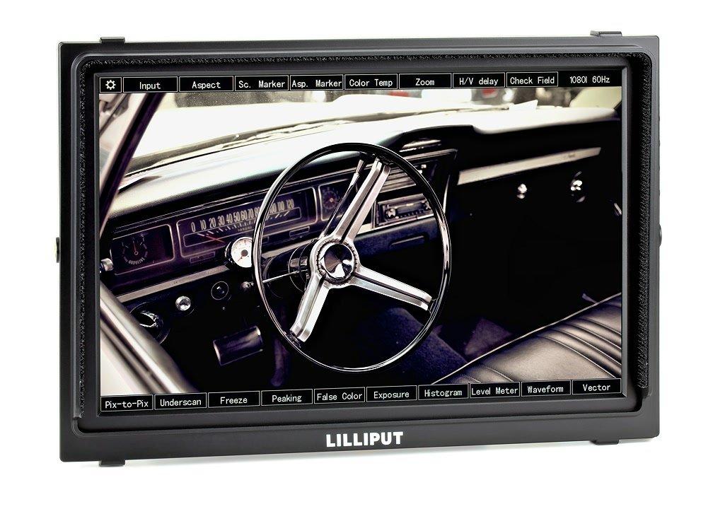Lilliput TM-1018 O/P Monitor mit 25.7cm (10.1 Zoll) IPS Panel.