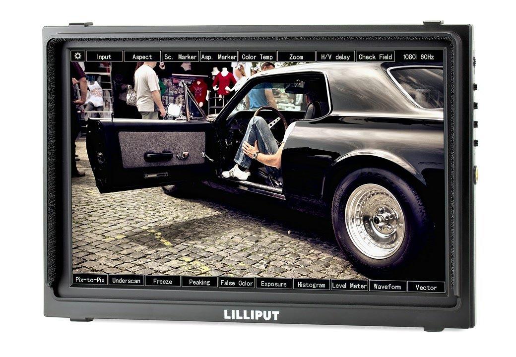 Lilliput TM-1018 S/P Monitor mit 25.7cm (10.1 Zoll) und SDI/HDMI.