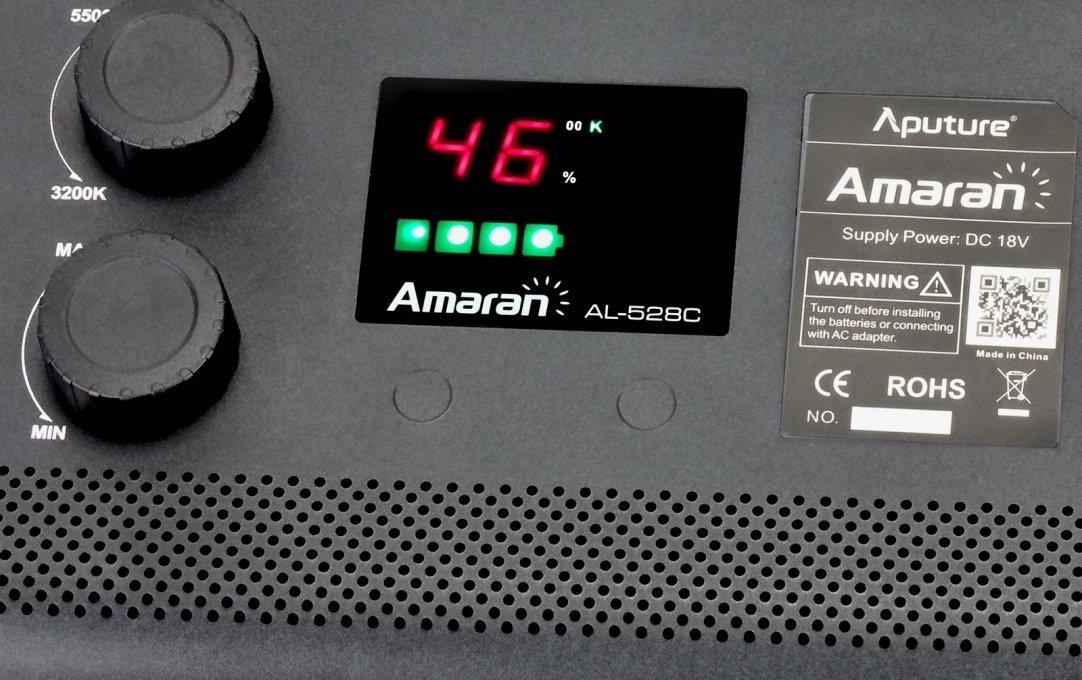 Aputure Amaran AL-528 CCCC LED Leuchten Set (4x BiColor) Foto Nr. 3