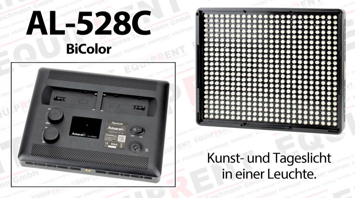 Aputure Amaran AL-528 CCS LED Leuchten Set (2x BiColor 1x Spot) Foto Nr. 1