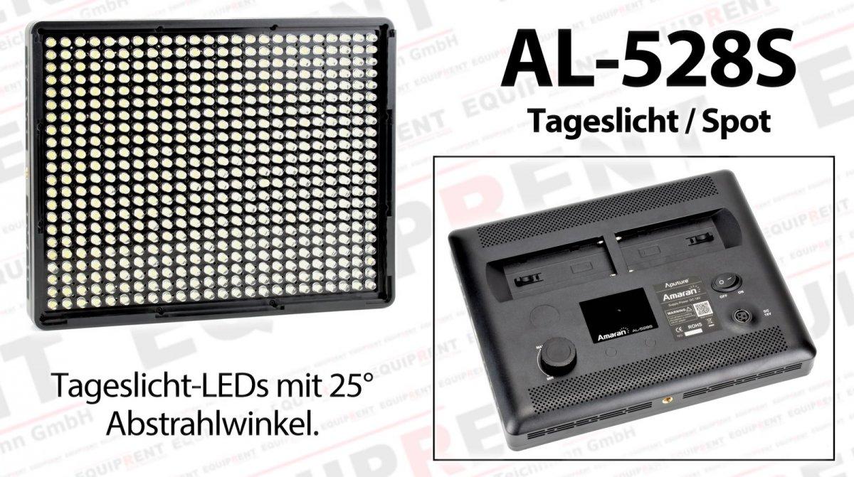 Aputure Amaran AL-528 CCS LED Leuchten Set (2x BiColor 1x Spot) Foto Nr. 3