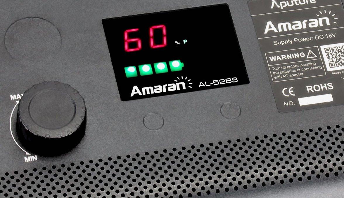 Aputure Amaran AL-528 CCS LED Leuchten Set (2x BiColor 1x Spot) Foto Nr. 5