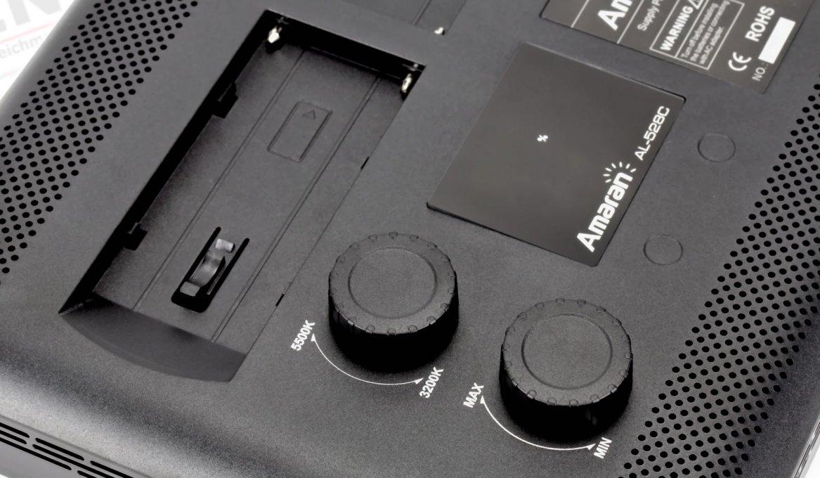 Aputure Amaran AL-528 CCS LED Leuchten Set (2x BiColor 1x Spot) Foto Nr. 6