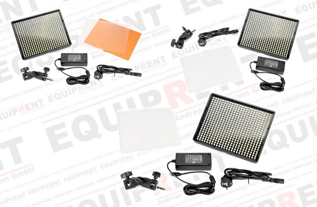 Aputure Amaran AL-528 CCS LED Leuchten Set (2x BiColor 1x Spot) Foto Nr. 8