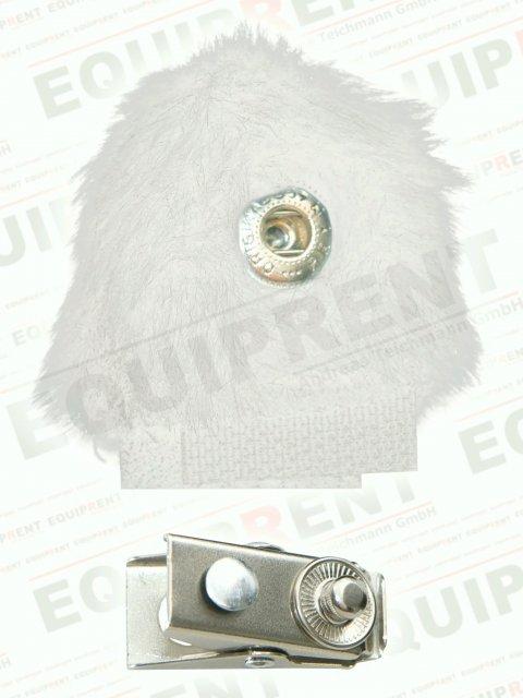 Reinhardt Mini-Lap Windschutz für Lavalier-Mikrofone (weiss) Foto Nr. 1