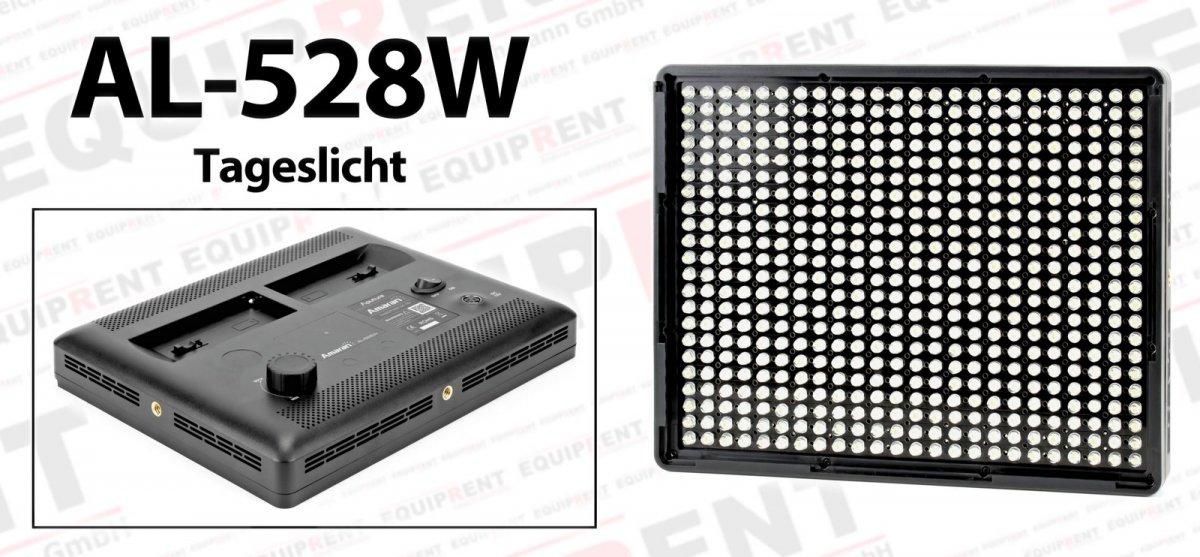 Aputure Amaran AL-528 SWW LED Leuchten Set (2x Tageslicht 1x Spot) Foto Nr. 3
