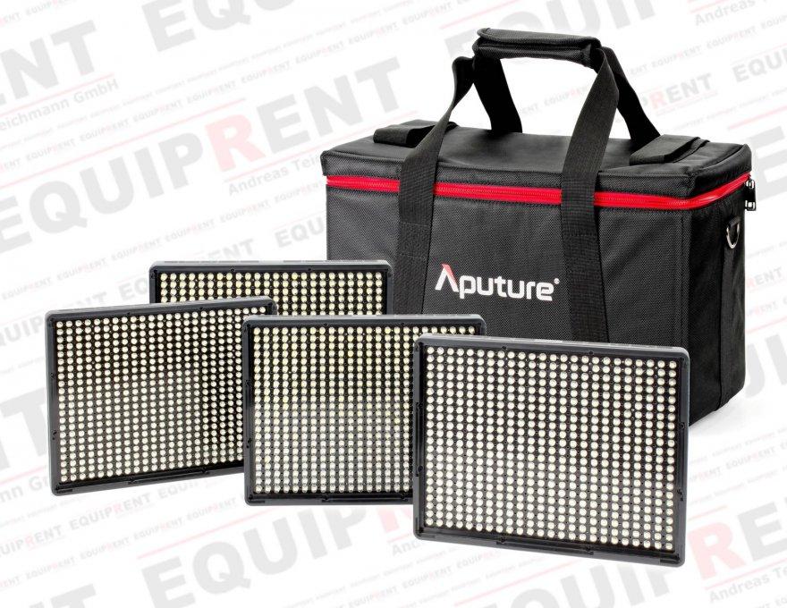 Aputure Amaran AL-528 WWWW LED Leuchten Set (4x Tageslicht).