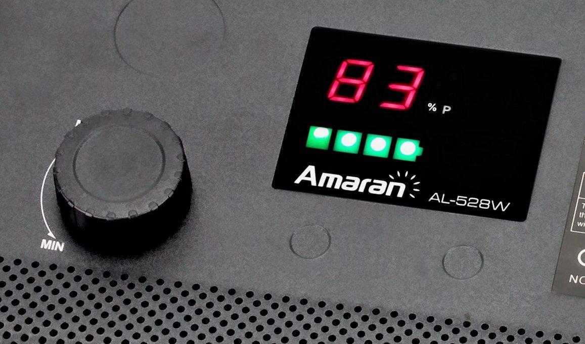 Aputure Amaran AL-528 WWWW LED Leuchten Set (4x Tageslicht) Foto Nr. 3