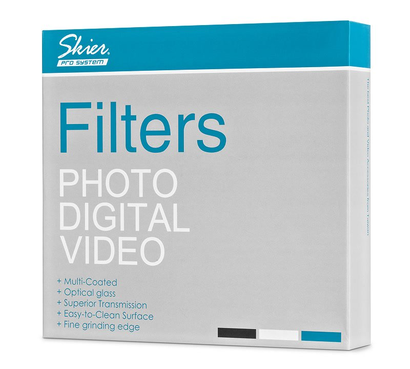Skier 4x4 IR ND 0.3 Filter Verpackung.