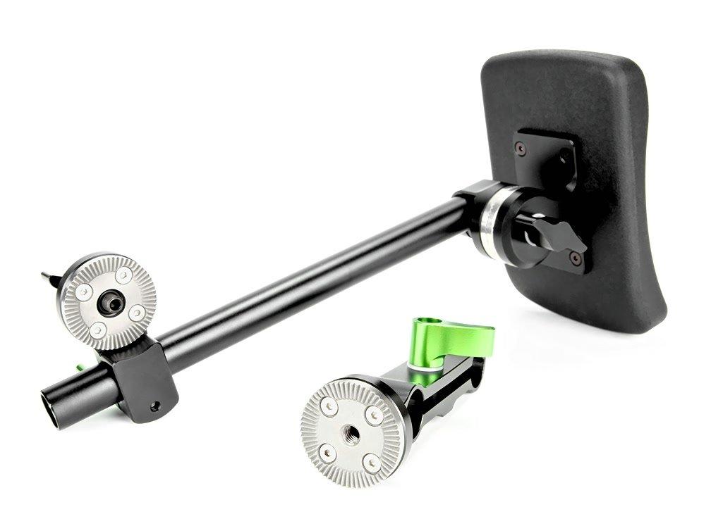 Lanparte Brust Stütze und 2-fach ARRI kompatibler Verbinder zerlegt.